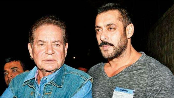 Salman Khan Does Not Narrate Scripts To Father Salim Khan Because The Latter Never Trusts Them!