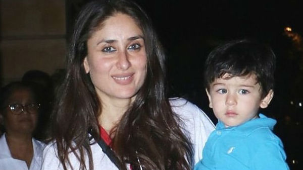 Taimur Wants Two Birthday Cakes Reveals Kareena!
