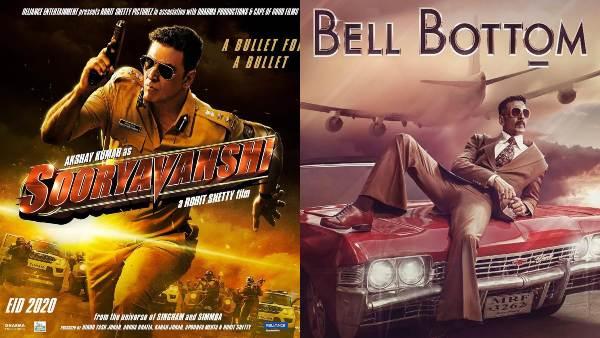 Akshay Kumar's Upcoming Films Timeline And Every Look From Sooryavanshi To Bell-Bottom