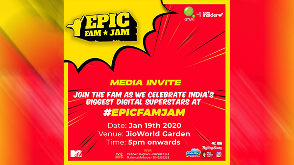 Epic Fam Jam: 5 Reasons Why You Need To Attend India's Biggest Fan Festival