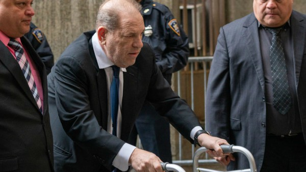 Harvey Weinstein In Prison In New York