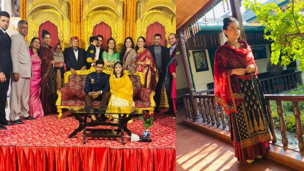 Kangana Ranaut Glows In A Desi Avatar At Cousin's Engagement In Himachal [PICS]