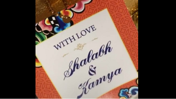 Kamya Panjabi Shares A Glimpse Of Her Wedding Card