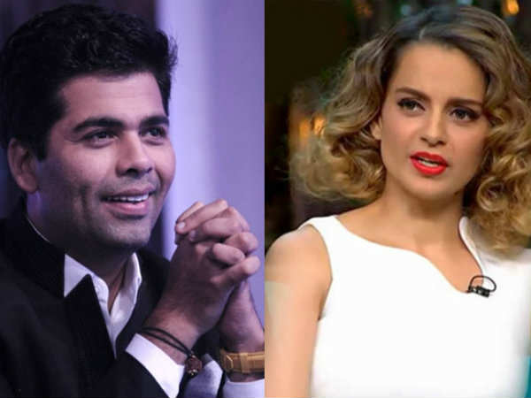 Karan Johar: If I Have A Film For Which I Need Kangana Ranaut, I Will Pick Up The Phone And Call Her