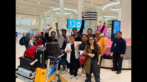The Kapil Sharma Show Team Jet Off To Dubai