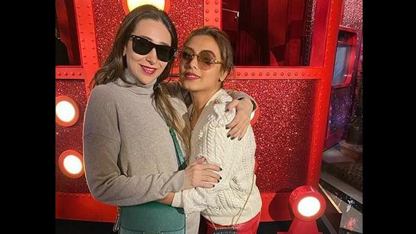 Rani Mukerji And Karisma Kapoor Catch Up In London; Karan Johar Captures The Moment!