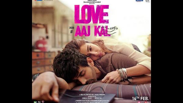 Love Aaj Kal First Look: Kartik Aaryan And Sara Ali Khan's Candid Moment Has Love Playing Peekaboo!