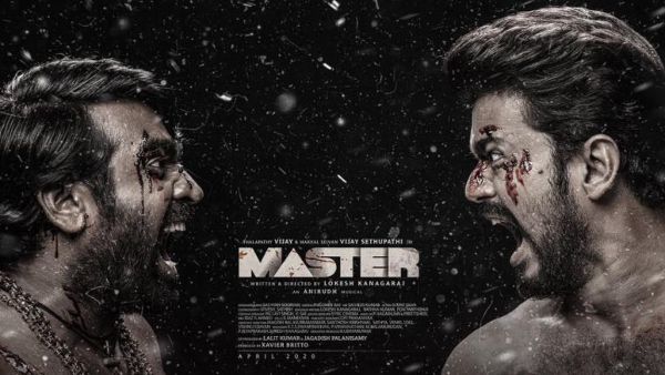 Master Third Look: It's Vijay Vs Vijay Sethupathi!