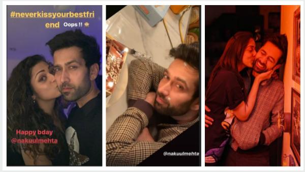 It's Working Birthday For Nakuul Mehta; Wife Jankee, Friends Drashti Dhami & Ravi Dubey Wish Actor