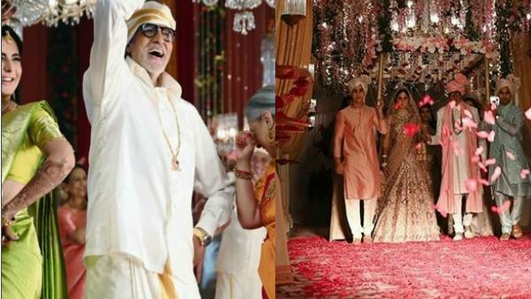 Amitabh And Jaya Bachchan Get Groovy At Katrina Kaif's Wedding; Pose With 'Three Superstars'