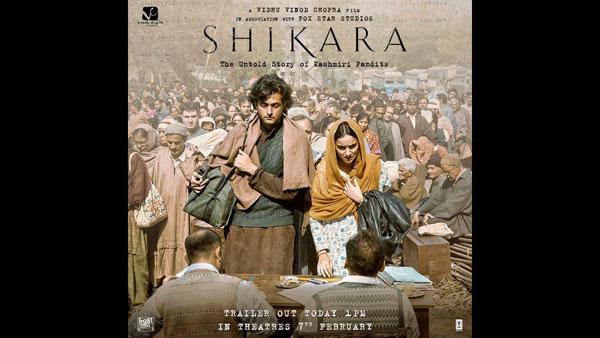 Shikara New Poster: Vidhu Vinod Chopra Sets Out To Tell The Untold Story Of Kashmiri Pandits