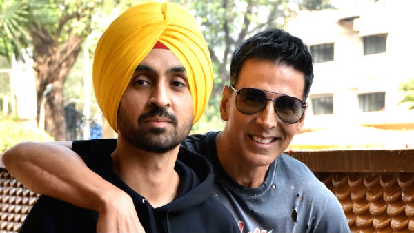 Diljit Thinks Akshay Is Like Mr. Bean!