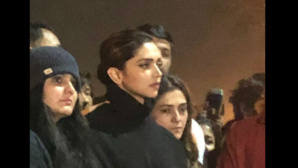 Deepika Padukone Visits JNU Campus, Stands In Solidarity With Students; Pictures