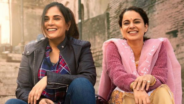 Richa Chadha Says She And Kangana Ranaut Did Not Discuss Politics On The Sets Of Panga