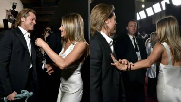 SAG Awards: Jennifer Aniston And Brad Pit Reunion