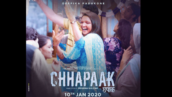 Chhapaak's New Poster: Deepika Padukone Flashes The Triumphant Smile Of 'Malti'