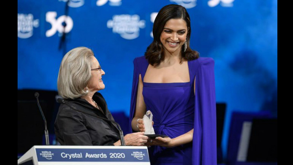 Deepika Padukone Recalls Her Struggle With Depression As She Receives Crystal Award At Davos