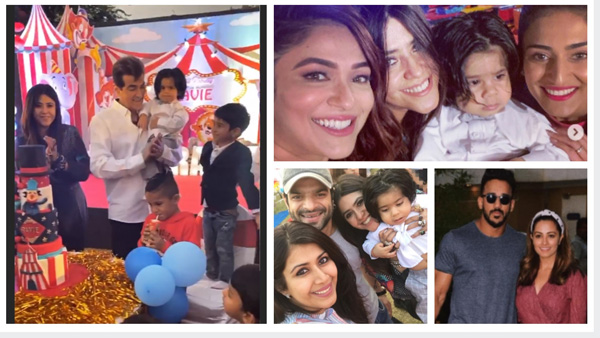 Ekta Kapoor's Son Ravie's Birthday Bash: Erica, Karishma, Pearl, Karan-Ankita & Others Attend (PICS)