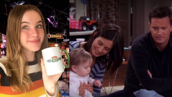 Friends: Joke's On You Chandler Bing, Baby Emma Just Woke Up From The Best Name Ever!