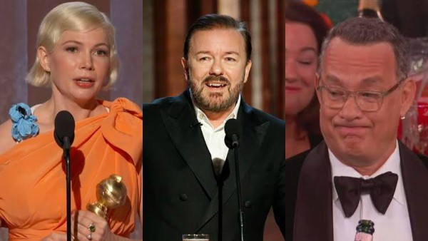 Best, Worst And Awkward Moments At Golden Globes 2020: Ricky Gervais, Michelle Williams And More