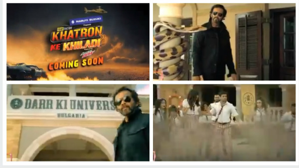 Khatron Ke Khiladi 10 PROMO: Meet Darr Ki University's Professor Rohit Shetty And His Students