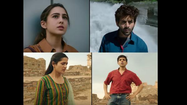 Kartik Aaryan-Sara Ali Khan's Love Aaj Kal Trailer Out!