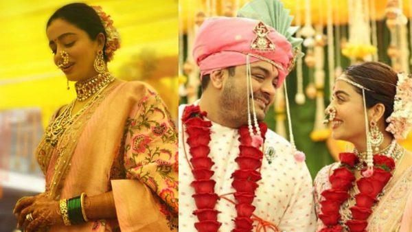 Watch Neha Pendse Become The Perfect Maharashtrian Bride