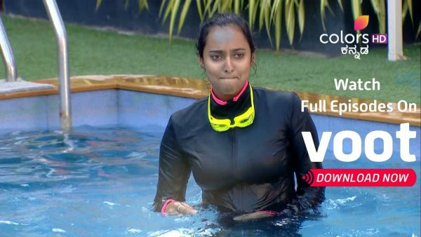 BB Kannada 7: Housemates Indulge In Game Of Pool Volleyball