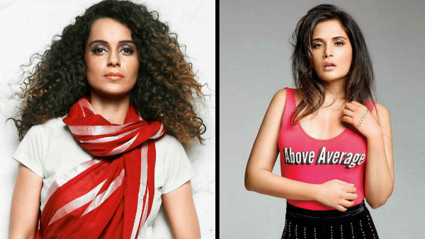 Richa Reacts To Having A Political Difference With Kangana!