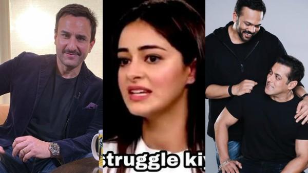 Saif Ali Khan's #ThereWasNoConceptOf Starts A Memefest: Ananya Panday, Salman Khan Get Trolled