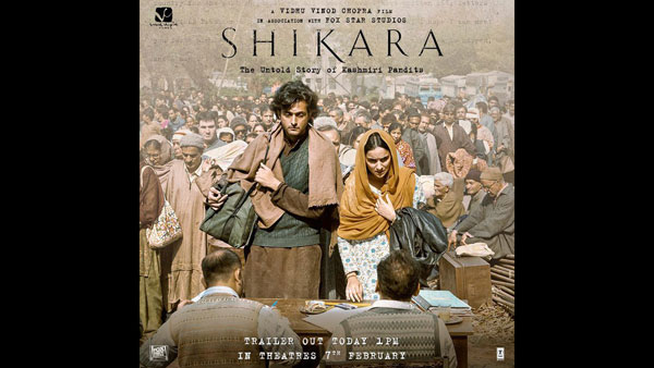 Shikara trailer: Vidhu Vinod Chopra tells 'the untold story of Kashmiri Pandits'