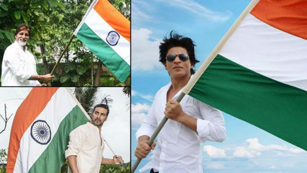 SRK, Kajol, Vicky Kaushal And Others Celebrate Republic Day