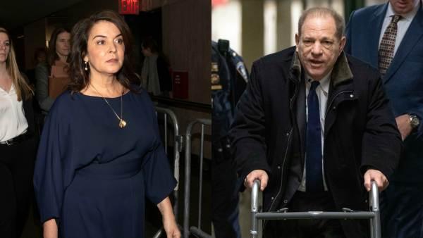 Annabella Sciorra Testifies Against Harvey Weinstein