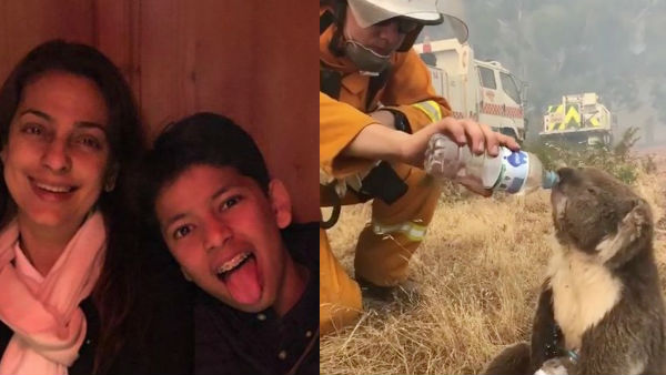 Juhi Chawla's Son Donates Rs 28,000 To Australian Fire Relief Fund, Asks His Mum What She Is Doing