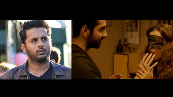 Nithiin Starrer Telugu Remake Of Andhadhun Won't Have S*X Scene; Here's Why