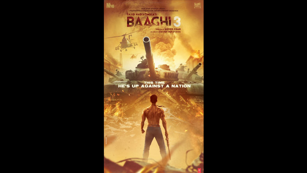 Baaghi 3 Poster: Tiger Shroff's Ronnie Is Ready For His Greatest Battle Against A Nation