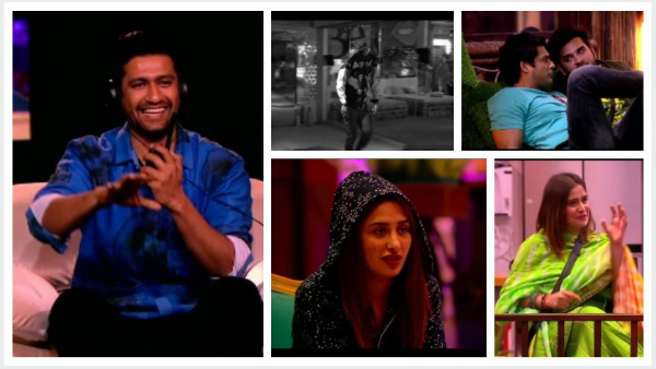 Vicky Kaushal's Bhoot Scares The Bigg Boss 13 Contestants; To Announce Mid-night Elimination!