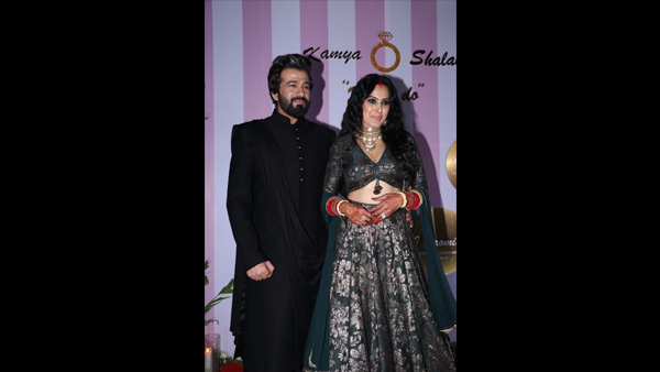 Kamya Panjabi-Shalabh Dang Wedding Reception