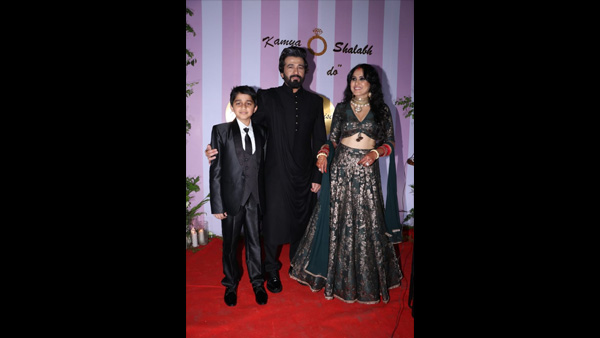 In Pic: Kamya & Shalabh With Ishaan