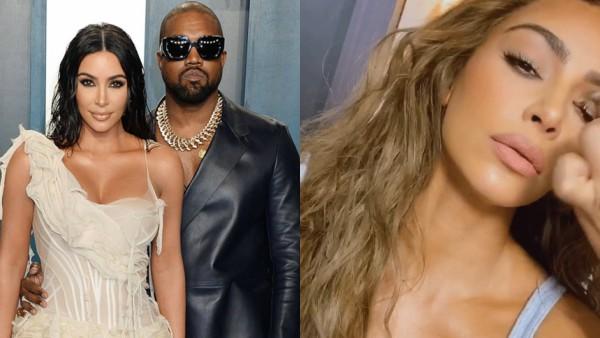 Kim Kardashian Sports New Look Post 2020 Vanity Fair Oscars After Party