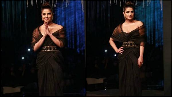 Priyanka Chopra Stuns In Black At The Pride of India Show