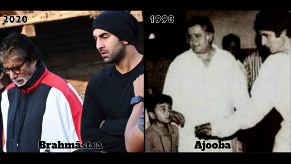 Amitabh Bachchan's Then & Now Photo With Ranbir Kapoor Is A Perfect Throwback Thursday Moment