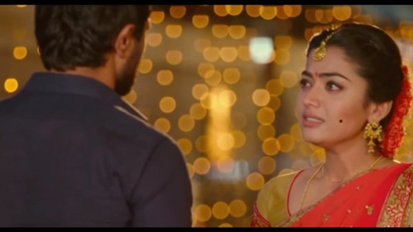 Geetha Govindam Director Left Rashmika Mandanna Crying