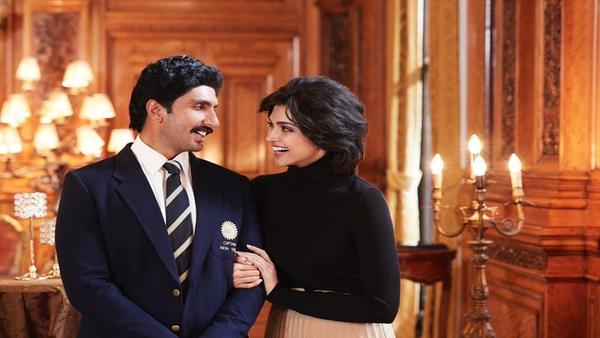 '83: Ranveer Singh Shares Deepika Padukone's Look As Romi Dev Aka 'The Heart Of The Hurricane'