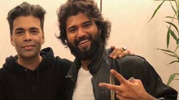 Karan Johar Ties World Famous Lover Vijay Deverakonda In THIS Knot