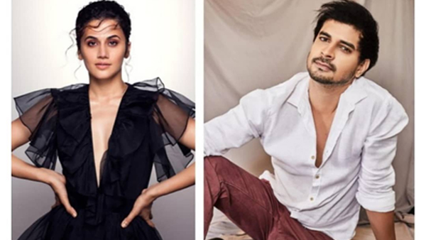 Taapsee Pannu and Tahir Raj Bhasin