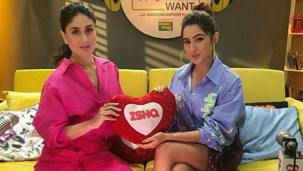 Sara Ali Khan Gets Asked By Kareena Kapoor Khan If She Has Had A One Night Stand Or Ghosted Someone