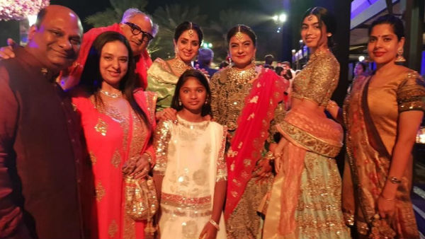 Sridevi's Death Anniversary: Let's Revisit Her Last Post On Instagram - A Beautiful Family Picture