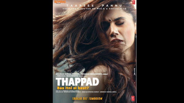 ALSO READ: Is Taapsee Pannu's Thappad An Answer To Shahid Kapoor's Kabir Singh?