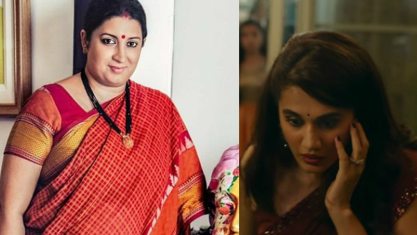 ALSO READ: Smriti Irani Promises She Will Watch Thappad; Urges People To See The Film With Their Families